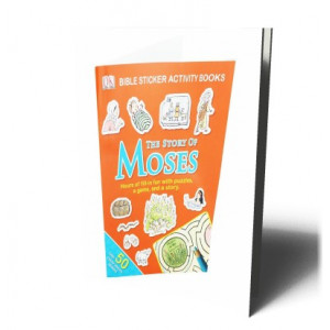 STORY OF MOSES BIBLE STICKER ACTIVITY |