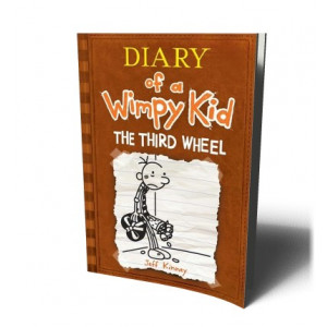 DIARY OF WIMPY KID 7 /THIRD WHEEL | KINNEY, JEFF