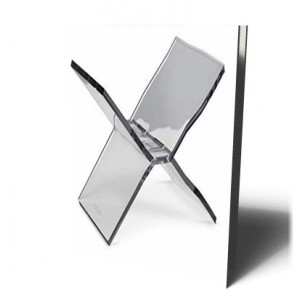 CLEAR ACRYLIC BOOKSTAND |