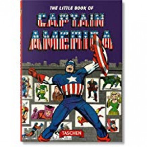 LITTLE BOOK OF CAPTAIN AMERICA | THOMAS, ROY