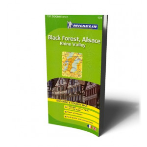 BLACK FOREST ALSACE RHINE VALLEY MAP | MICHELIN