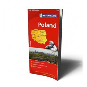 POLAND MAP 720 2012ED | MICHELIN