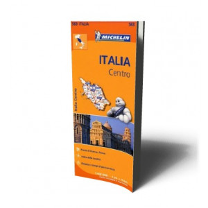 ITALY CENTRE MAP 563 |