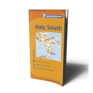 ITALY SOUTH MAP 564 |