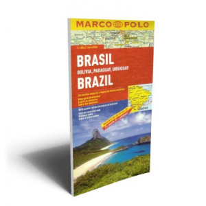 BRAZIL BOLIVIA PARAGUAY..MAP | MARCO POLO