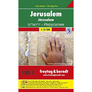 JERUSALEM FREYTAG CITY PCKT MAP & THE BIG 5 |