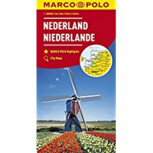 NETHERLANDS MARCO POLO MAP |