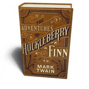 ADVENTURES OF HUCKLEBERRY FINN (LEATHER) | TWAIN, MARK