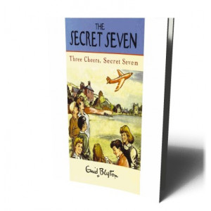 THREE CHEERS SECRET SEVEN BK8 | BLYTON, ENID