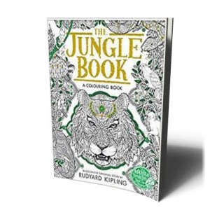 JUNGLE BOOK (COLORING BK) | KIPLING, RUDYARD