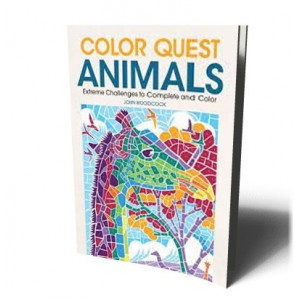 COLOR QUEST: ANIMALS: 30 EXTREME CHALLENGES TO C |