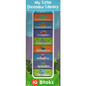 MY LITTLE DINOSAUR LIBRARY | PAGE