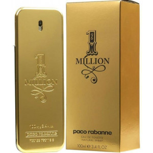 בושם לגבר One Million Paco Rabanne EDT 100 ml |
