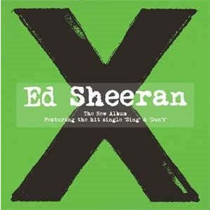 ED SHEERAN  X CD | SHEERAN ED
