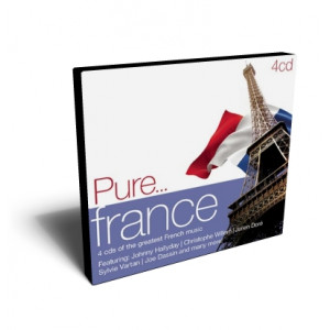 PURE FRANCE VARIOUS 4 CD | VARIOUS