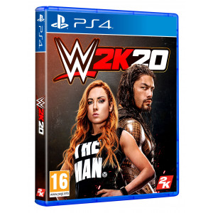WWE 2K20 - STANDARD EDITION - PS4