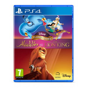 DISNEY CLASSIC GAMES ALADDIN AND THE LION KING - PS4 |